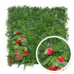 Mur végétal Tropical : 1m x 1m Ce mur végétal artificiel tropical, composé... par LeGuide.com Publicité