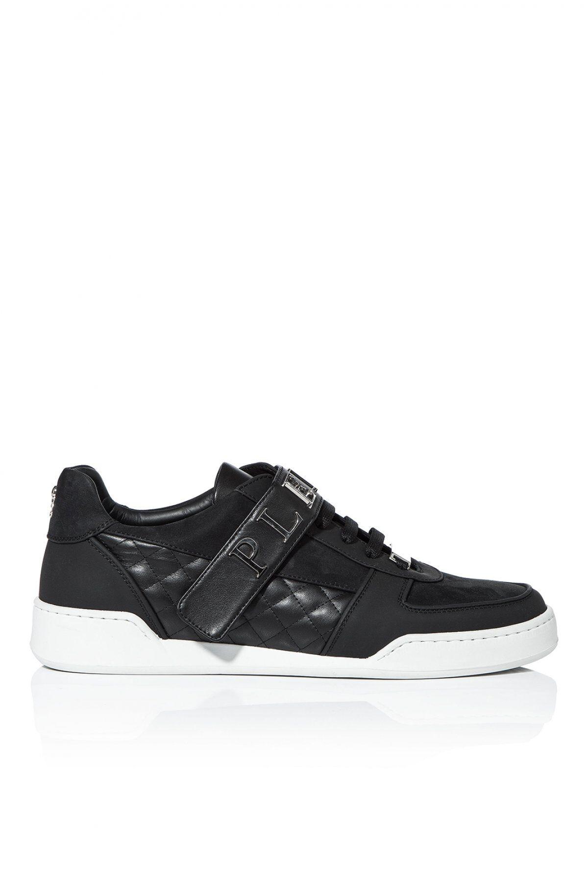 Philipp plein Sneakers En Cuir Véritable Logo Msc0478 Watson  -  Philipp Plein
