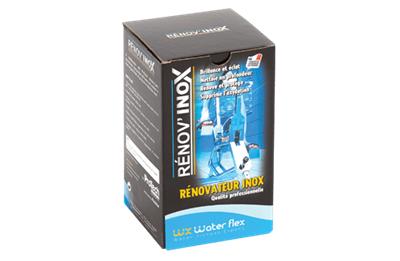 WATER FLEX Renov'Inox 125ml + eponge + micro fibre pour Inox Velo piscine