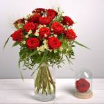 interflora  Interflora Bouquet Rouge idylle Rouge Idylle est un sublime... par LeGuide.com Publicité