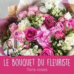 interflora  Interflora Bouquet du fleuriste Rose Le bouquet du fleuriste... par LeGuide.com Publicité