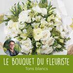 interflora  Interflora Bouquet du fleuriste Blanc Le bouquet du fleuriste... par LeGuide.com Publicité