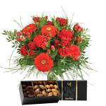 interflora  Interflora Bouquet Pomme d'amour et ses amandes au chocolat... par LeGuide.com Publicité