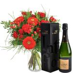 interflora  Interflora Bouquet Pomme d'amour et son champagne Devaux... par LeGuide.com Publicité