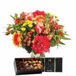 interflora  Interflora Bouquet Tutti frutti et ses amandes au chocolat... par LeGuide.com Publicité