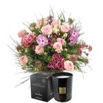 interflora  Interflora Bouquet Velours et sa bougie parfumée Esteban Velours... par LeGuide.com Publicité
