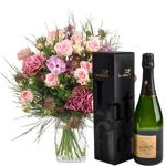 interflora  Interflora Bouquet Velours et son champagne Devaux Velours... par LeGuide.com Publicité