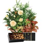 interflora  Interflora Bouquet Coin de paradis et ses amandes au chocolat... par LeGuide.com Publicité