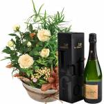 interflora  Interflora Bouquet Coin de paradis et son champagne Devaux... par LeGuide.com Publicité