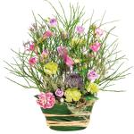 interflora  Interflora Bouquet Menuet Création originale de fleurs pastel par LeGuide.com Publicité