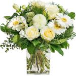 interflora  Interflora Bouquet Etoile Bouquet deuil fleurs blanches et... par LeGuide.com Publicité