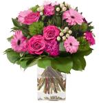 interflora  Interflora Bouquet Amour éternel rose Bouquet rond de fleurs... par LeGuide.com Publicité