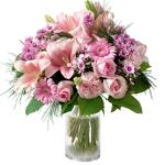 interflora  Interflora Bouquet Louange Bouquet rond avec lys et roses en... par LeGuide.com Publicité