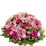 interflora  Interflora Bouquet Mémorial rose Coussin rond de fleurs naturelles... par LeGuide.com Publicité