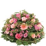 interflora  Interflora Bouquet Affection Coussin rond de fleurs roses et... par LeGuide.com Publicité