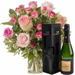 interflora  Interflora Bouquet de l'amour et son champagne Devaux... par LeGuide.com Publicité
