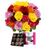 interflora  Interflora Brassée de 20 roses et son écrin FAUCHON Brassée... par LeGuide.com Publicité