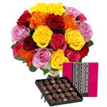 interflora  Interflora Brassée de 20 roses et son écrin géant FAUCHON Brassée... par LeGuide.com Publicité