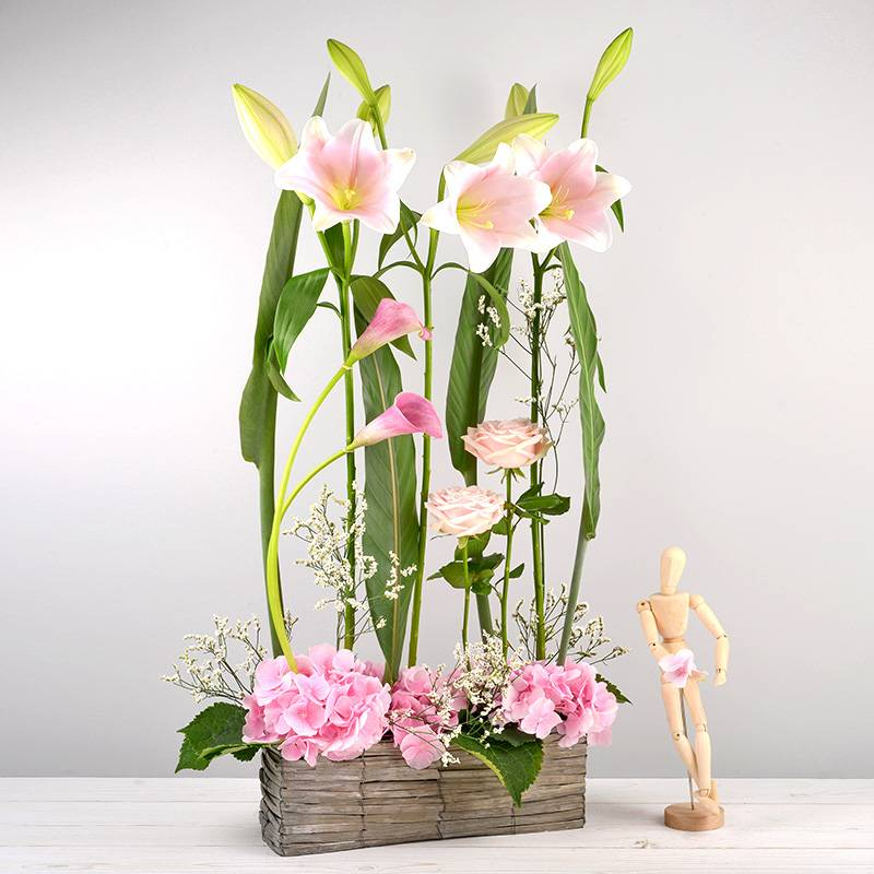 Interflora Bouquet Pink ladies