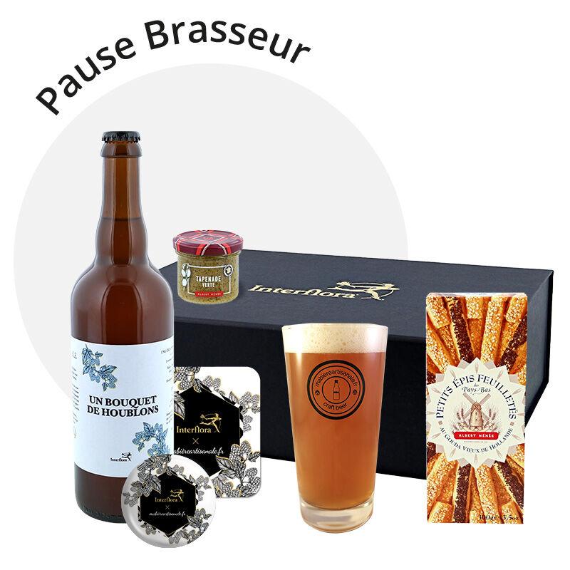 Interflora Coffret Pause Brasseur