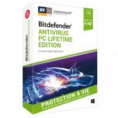 Bitdefender - Antivirus Lifetime Edition   1 poste   PC   Livraison par email