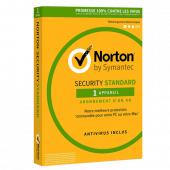 Symantec - Norton Security Standard 2020   1 poste   1 an   PC/Mac   En Téléchargements