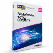Bitdefender - Total Security 2021   5 appareils   1 an   PC/Mac/Android/iOS   Code par email