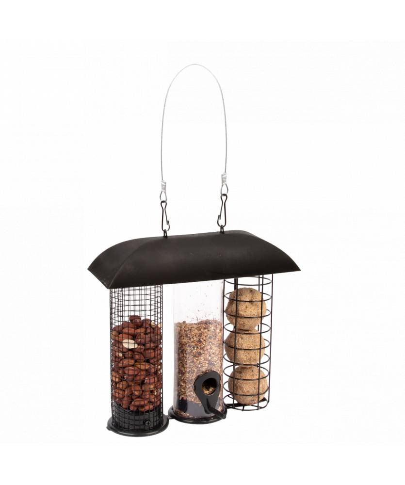 Best For Birds Mangeoire à oiseaux trois en un