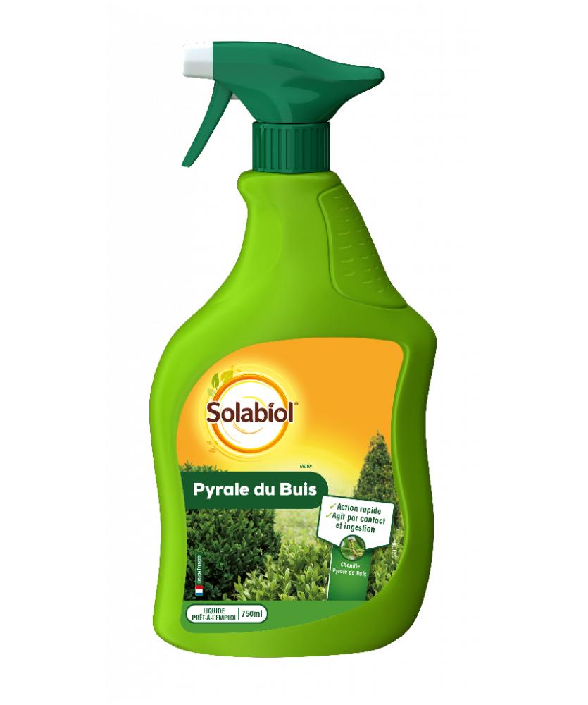 Solabiol Insecticide pyrale du buis prêt-à-l'emploi