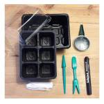 Kit de semis avec mini-serre Ce kit de semis comprend une mini-serre... par LeGuide.com Publicité