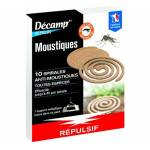 decamp  Décamp' 10 spirales anti-moustiques Ces spirales anti-moustiques... par LeGuide.com Publicité