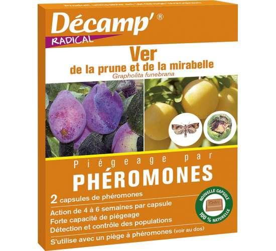 Décamp' Phéromone ver de la prune et de la mirabelle Conditionnement - Boite de 2 capsules
