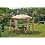 AUCUNE Tonnelle de jardin Dune - ?3,5 x H.2,7 m - Structure Acier et... par LeGuide.com Publicité