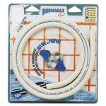 AUCUNE Kit de raccordement en tuyau souple Conformément aux normes NF... par LeGuide.com Publicité