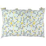 AUCUNE Tête de lit coussin 100% coton imprimé MISTIGRI - 50x70 cm - Gris,... par LeGuide.com Publicité