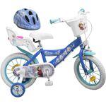 AUCUNE LA REINE DES NEIGES Vélo 14 Vélo + Casque - Motif Reine des neiges... par LeGuide.com Publicité