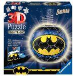 ravensburger  RAVENSBURGER - Batman Puzzle 3D rond 72 pièces Illuminé Jeux... par LeGuide.com Publicité