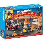 playmobil  PLAYMOBIL 9486 - Calendrier de l'Avent - Pompiers incendie... par LeGuide.com Publicité