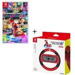 nintendo  NINTENDO Mario Kart 8 Deluxe + Volant HORI Mario Kart 8 Deluxe... par LeGuide.com Publicité
