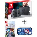 nintendo  NINTENDO Pack Nintendo Switch Grise + Lego Harry Potter + Housse... par LeGuide.com Publicité