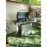 GRILL GARDEN Barbecue à gaz 4 brûleurs - Fonte émaillée - 62 x 39,5 cm... par LeGuide.com Publicité
