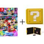 nintendo  NINTENDO Mario Kart 8 Deluxe + Boîtier pour jeux Switch - Question... par LeGuide.com Publicité