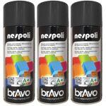 nespoli  NESPOLI Lot de 3 aérosols peinture professionnelle noir brillant... par LeGuide.com Publicité