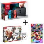 nintendo  NINTENDO Consoles Nintendo Switch Néon + Nintendo Labo Vehicules... par LeGuide.com Publicité