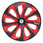 sparco  SPARCO 4 Enjoliveurs 16 Pouces Sicilia Noir et Rouge Fans de sport... par LeGuide.com Publicité
