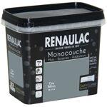 RENAULAC Peinture murale monocouche spéciale pièces humides 0,75 L gris... par LeGuide.com Publicité