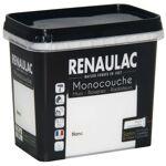 RENAULAC Peinture murale monocouche multi-support 0,75 L blanc satin... par LeGuide.com Publicité