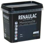 RENAULAC Peinture murale monocouche multi-support 0,75 L noir satin Murs... par LeGuide.com Publicité