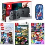 nintendo  NINTENDO Pack Nintendo Switch Grise + Lego Harry Potter + Rocket... par LeGuide.com Publicité