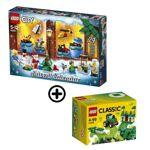lego  LEGO® Classic 10708 Boîte de Construction verte + LEGO® City 60201... par LeGuide.com Publicité